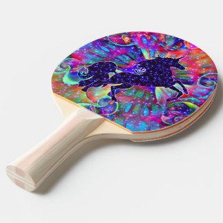 EINHORN DES UNIVERSUMS mehrfarbig Tischtennis Schläger