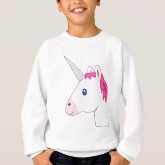 Einhorn emoji sweatshirt