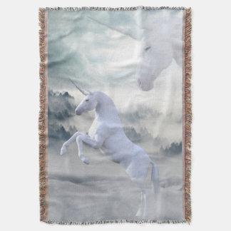 Einhorn-Fantasie-Wurfs-Decke Decke