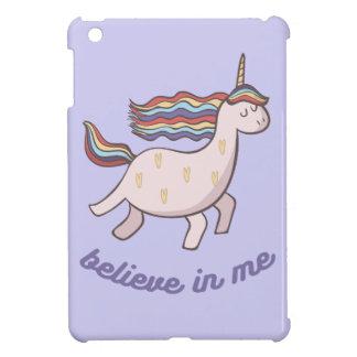 Einhorn glauben an mich iPad mini hülle