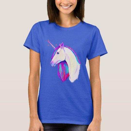 Einhorn in den Farben T-Shirt