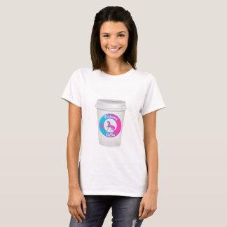 Einhorn-Kaffee-T-Shirt T-Shirt