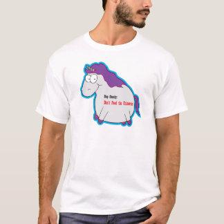 Einhorn-Korpulenz T-Shirt