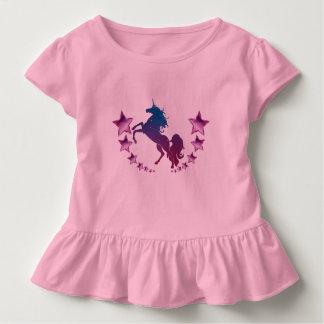 Einhorn mit Sternen Kleinkind T-shirt
