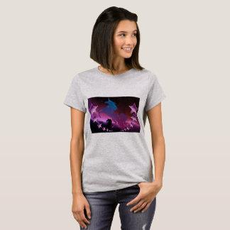 Einhorn mit Sternen T-Shirt
