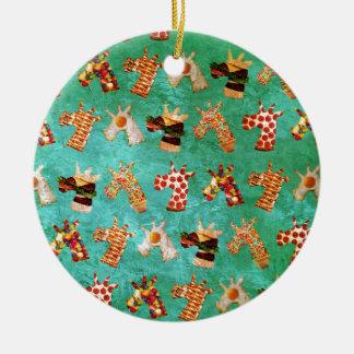 Einhorn-Nahrung Keramik Ornament