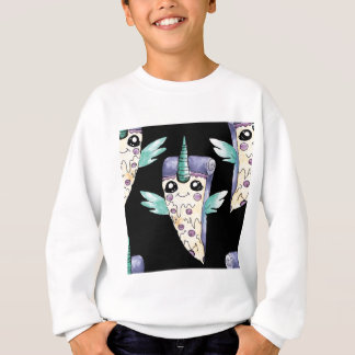 einhorn Pizza 2 Sweatshirt