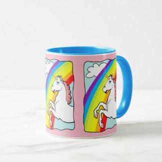 Einhorn-Regenbogen Tasse