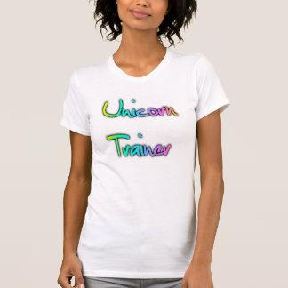 Einhorn-Trainer-Regenbogen T-Shirt