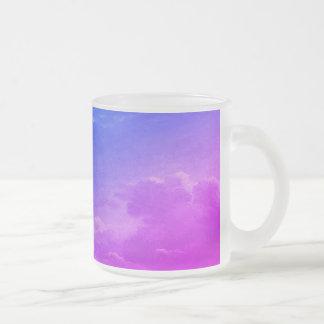 Einhorn-Wolken Mattglastasse