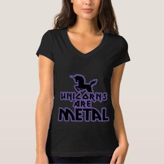 Einhörner sind Metall T-Shirt