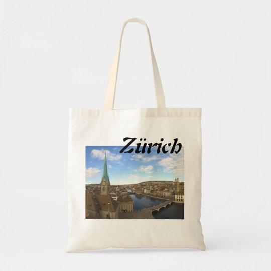 Einkaufen in Zürich Tragetasche