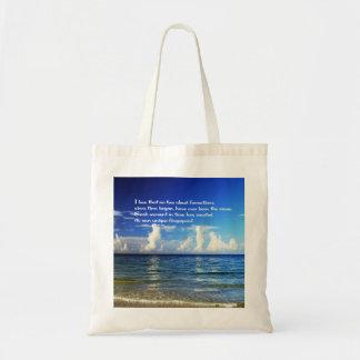 Einkaufstasche mit inspirierend Mitteilung