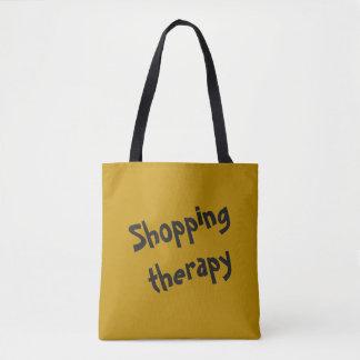 Einkaufstherapieschablone Tasche
