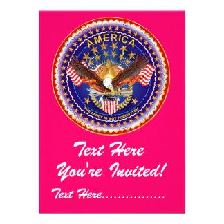 Einladung 4 5 x 6 25 Amerika nicht vergessen…