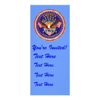 Einladung 4 x 9 25 Amerika nicht vergessen…