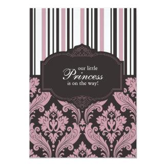 Einladung Prinzessin-Babyparty