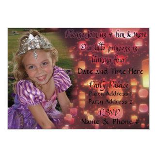 Einladungen Prinzessin-Turning 4 für Geburtstag