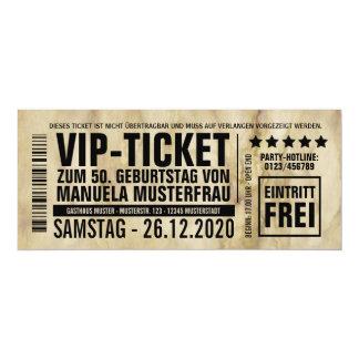 """Einladungen zum Geburtstag (""""VIP"""")"""