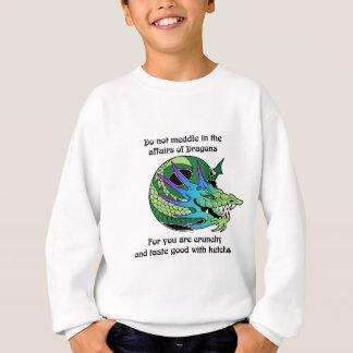 Einmischen Sie nicht sich in den Angelegenheiten Sweatshirt