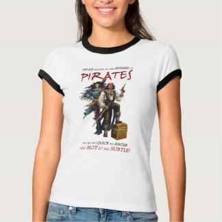 Einmischen Sie nie sich mit Piraten T-Shirt