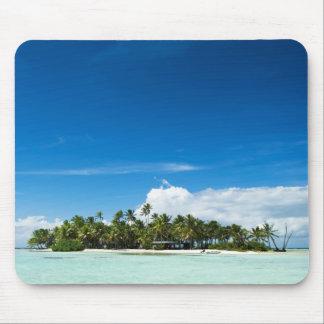 Einsame Insel mousepad