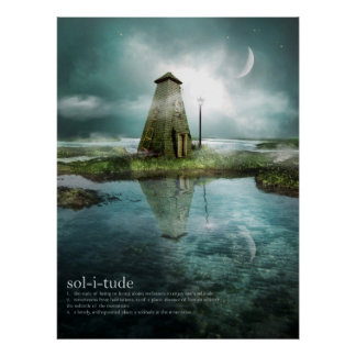 Einsamkeit Poster