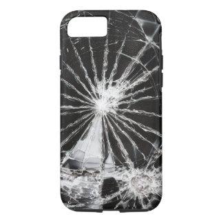 Einschussloch - zerbrochenes Glas iPhone 8/7 Hülle