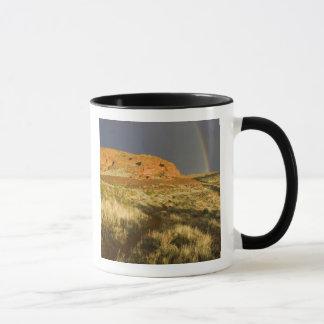 Einspurig an der roten Klippen-Wüsten-Konserve Tasse