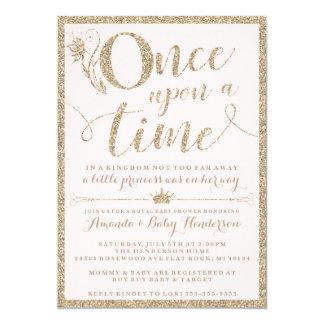 Einst Einladung Prinzessin Babyparty