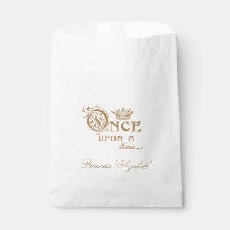 Einst Prinzessin Favor Bag Geschenktütchen
