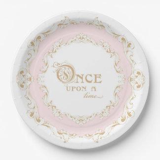 Einst Prinzessin Plates Pappteller