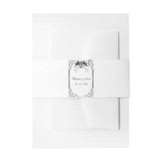 Einst Wedding Bauch-Bänder Einladungsbanderole