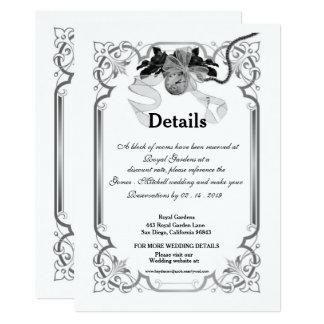 Einst Wedding Einschließungs-Karte Karte