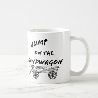 Einsteigen Sie in das Geschäft Kaffeetasse
