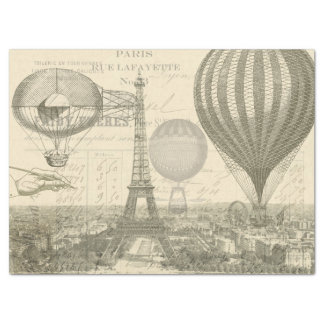 Eintagsfliege-Ballon Decoupage Gewebe Seidenpapier