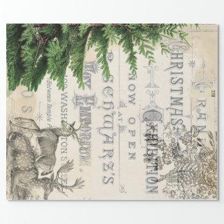 Eintagsfliege-WeihnachtsPackpapier Geschenkpapierrolle