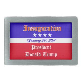 Einweihung Donald Trump am 20. Januar 2017 Rechteckige Gürtelschnalle