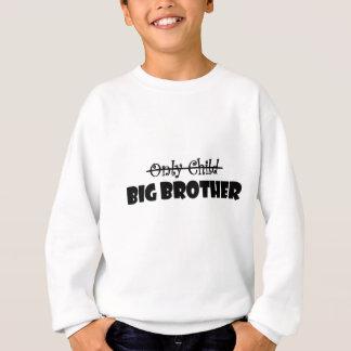 Einzelkind zum großen Bruder Sweatshirt