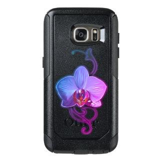 Einzigartige Orchideenart Samsungs-Hüllen OtterBox Samsung Galaxy S7 Hülle