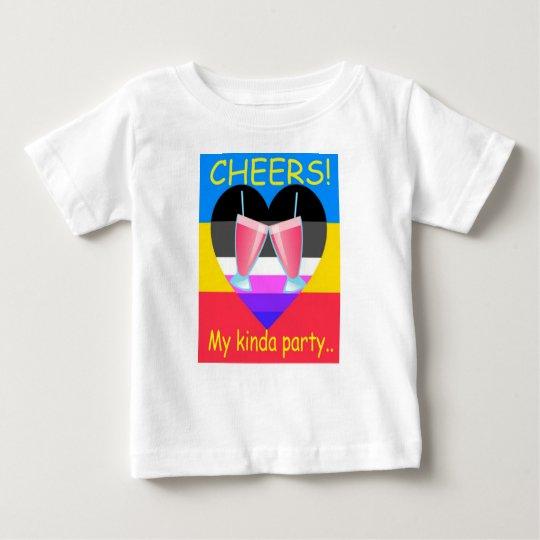 Einzigartige und coole KinderParty-T-Stücke Baby T-shirt