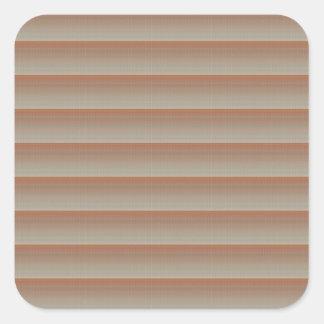 EINZIGARTIGER Künstler schuf Billigspaß der muster Quadratischer Aufkleber