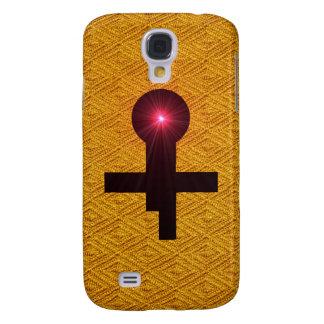 Einzigartiger mystischer goldener Kasten der Galaxy S4 Hülle