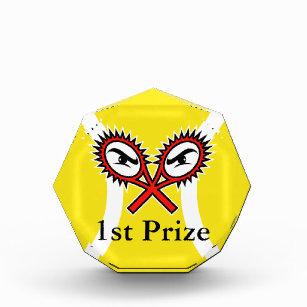 Einzigartiger Tennistrophäepreis für Turniere Acryl Auszeichnung