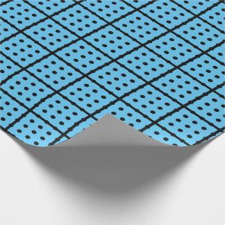 Einzigartiges Baby-Blau-Packpapier Geschenkpapier