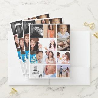 Einzigartiges Foto 12 personalisiert Bewerbungsmappe
