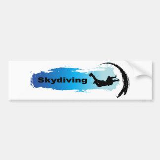 Einzigartiges Skydiving Autoaufkleber