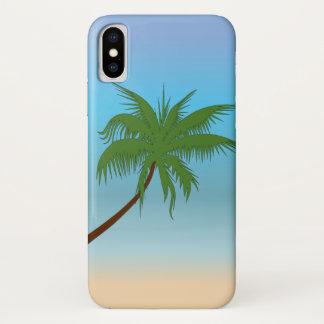 Einzige Palme iPhone X Hülle