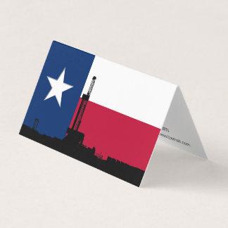 Einzige Stern-Erdölbohrungs-Anlage Visitenkarten