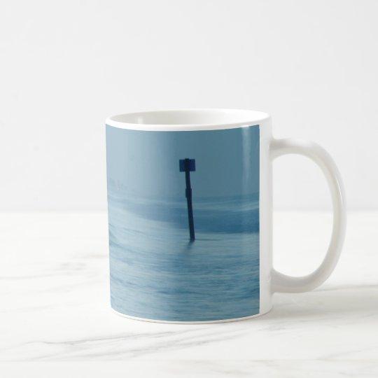 Einzige Surfer-Dämmerung Ponce Einlass Kaffeetasse